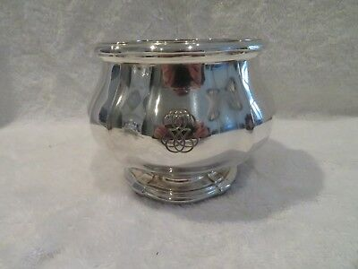 early 20th c french sterling silver bowl for tea coffee set Keller Louis XIV st