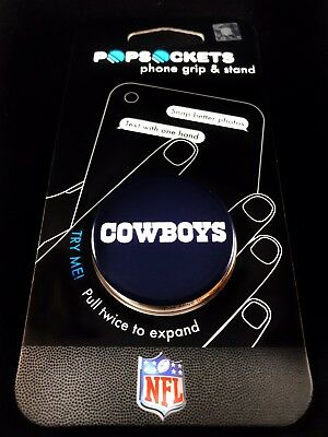 c3d405c7ff6 Authentic PopSockets NFL Dallas Cowboys Logo Gloss PopSocket Pop Socket  Phone