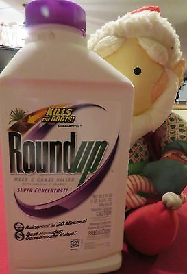 Round Up Super Concentrate Weed Grass Killer Purple Red Poison Ivy Yellow choice
