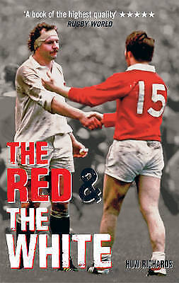 """VERY GOOD"" The Red & The White: A History of England vs Wales Rugby, Richards,"