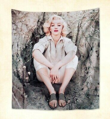 US Seller- Marilyn Monroe sexy American actress tapestry decorative wall lights