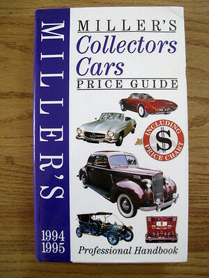 Miller's Collectors Cars Price Guide 1994-95 by Judith Miller and Martin Miller
