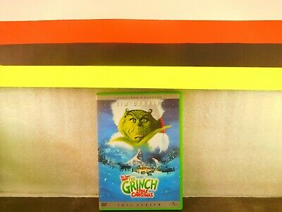 How the Grinch Stole Christmas  JIM CARREY DVD