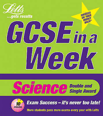 """VERY GOOD"" GCSE in a Week: Science (Revise GCSE in a Week S.), Byrne, Kevin, Bo"