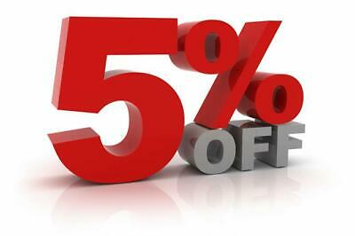 5% Off Discount Coupon - Check with us before placing order
