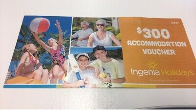 $300 accommodation voucher for sale