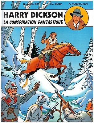 Rare Album BD Harry Dickson J.Ray La Conspiration Fantastique Neuf 1ère Edition