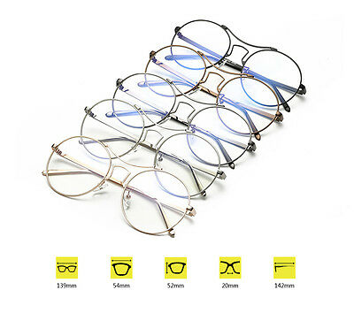 47063da3db4e Large round frame glasses frame anti-blue glasses Metal full frame glasses  TR