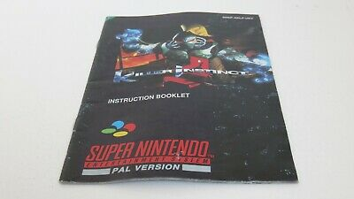 Killer Instinct - SNES manual only