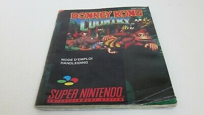 Donkey Kong Country - SNES manual only
