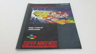Super Game Boy - SNES manual only