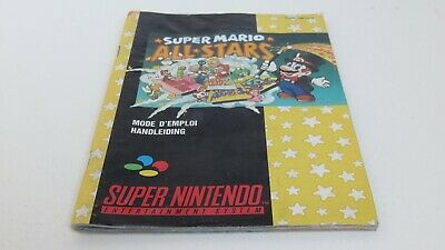 Super Mario All Stars - SNES manual only
