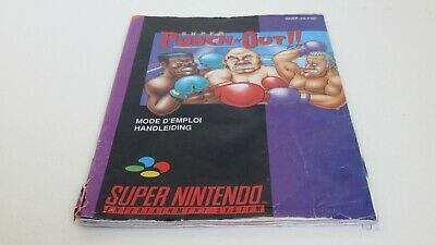 Super Punch Out - SNES manual only