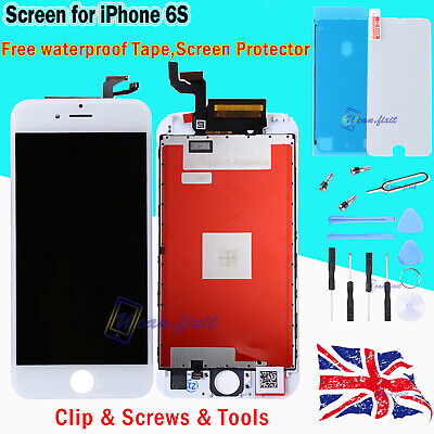 For iPhone 6s LCD Touch Screen Replacement Assembly + 3D Touch + OEM IC + White