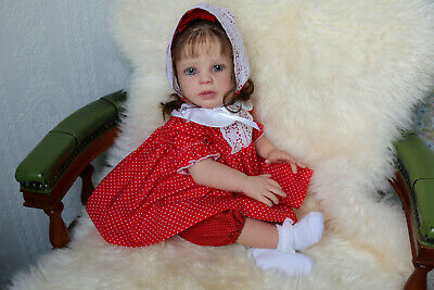 "Reborn ""Charli"" by Sigrid Bock. Limit kit. Toddler  Baby  Doll Lifelike."