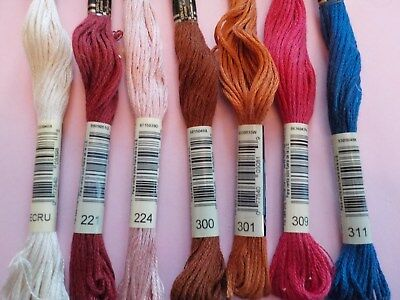DMC - Embroidery Floss - 34 Colors Available - Free Ship with purchase of 2 +