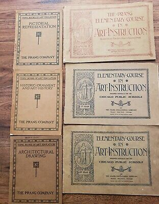 Antique Collection Of Art Instruction Books..Make Me An Offer!!