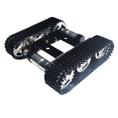 Solid Metal Robot Smart Tank Chassis Crawler Car for Arduino Dual Motor DC9V