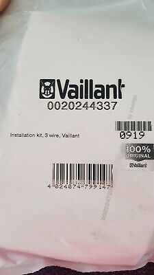 Swell Vaillant 3 Wire Installation Kit 25 00 Picclick Uk Wiring Digital Resources Remcakbiperorg