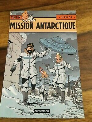 CARTE POSTALE TINTIN  HOMMAGE A HERGE PASTICHE lefranc