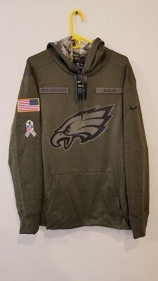 new products 035e3 6be76 nfl eagles salute to service hoodie