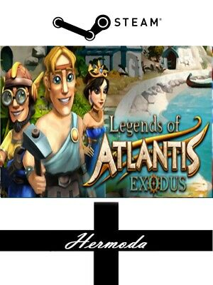 Legends of Atlantis: Exodus Steam Key - for PC Windows (Same Day Dispatch)