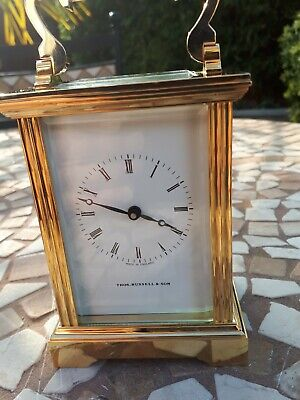 Vintage Brass Carriage Clock.