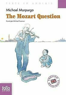 The Mozart Question de Morpurgo,Michael | Livre | état bon