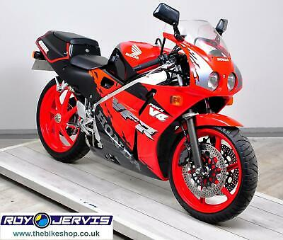 1998 (S) Honda VFR400 NC30 Sports Red - ONLY 3350 miles - Superb Jap Classic