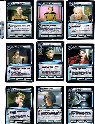 Star Trek 2E Call To Arms Trading Cards With Rares And Foils Lot Of 155 2003 Ccg