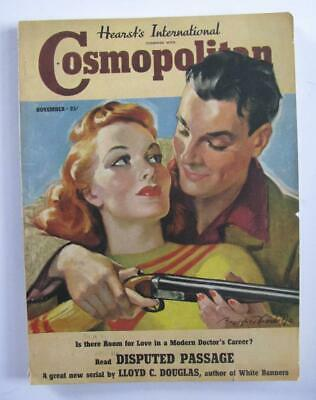 NOVEMBER 1938 HEARST'S COSMOPOLITAN MAGAZINE 166 PGS Packed Issue
