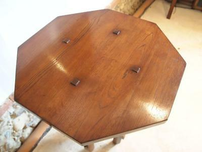 Table Arts and Crafts Oak Trevor Page Norwich c1910