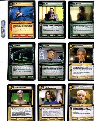 Star Trek 2E Strange New Worlds Trading Cards With Rares Lot Of 109 2005 Ccg