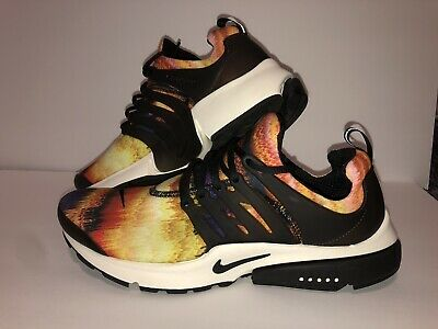 new style 34ee2 c0980 NIKE Air Presto GPX Graphic ~ Vivid Sulfur Black Sail Flames ~ US Men s 11