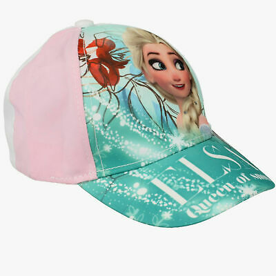 Girls Official Disney Frozen Elsa Character Baseball Cap