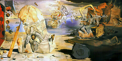 The Apotheosis of Homer 1945 by Salvador Dali - CANVAS OR PRINT WALL ART