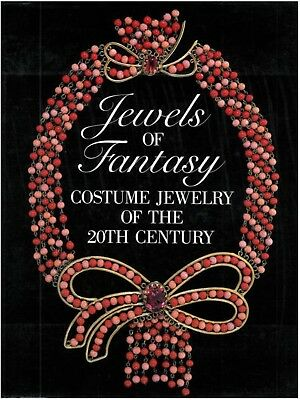 Jewels of Fantasy: Costume Jewelry of the 20th Century Hardcover- BRAND NEW!
