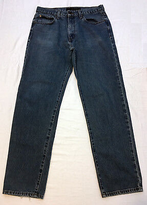 Calvin Klein Womens Jeans Blue Denim Medium Wash Casual Wear Size 33