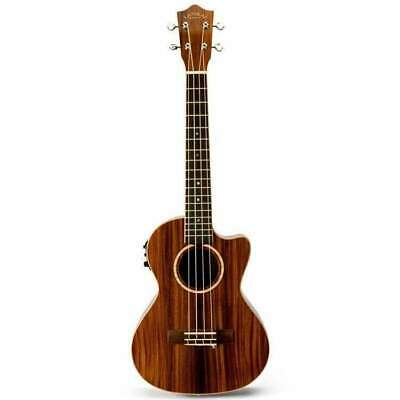 Ukulele Tenor Lanikai Morado Series All Solid AC/EL Natural Gloss