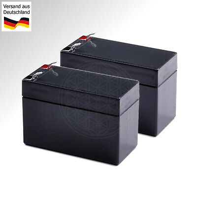 2x 12V Batterie für Invacare Electra Mobility Scooter Battery electric E-Roller