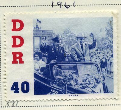 Stamps GERMAN DEMOCRATIC REPUBLIC - DDR Lot of 64, 1960-1966 Cancelled Hinged