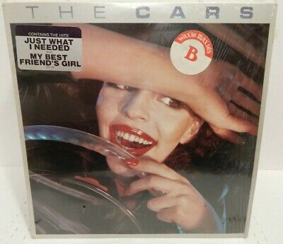 THE CARS The Cars S/T Debut 1st LP 1978 Elektra 1P Sticker Shrink Top Copy NM+