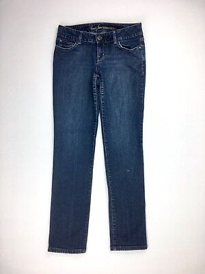GUESS Womens Jeans Sarah Skinny Dark Blue Denim Cotton Spandex Casual Wear 30x31