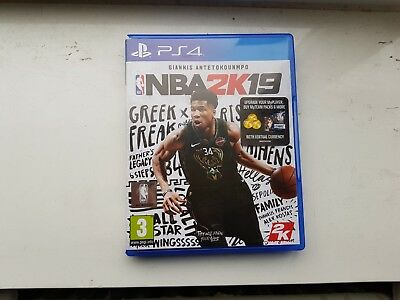 NBA 2K19 PS4 Sony PlayStation 4 Video Game