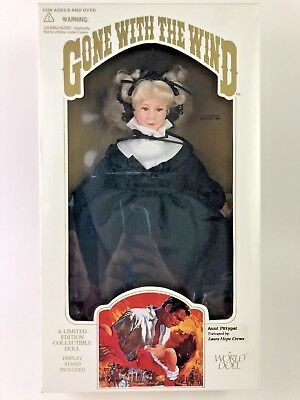 "Gone With the Wind ""AUNT PITTY PAT DOLL 1989 By World Doll                 19"