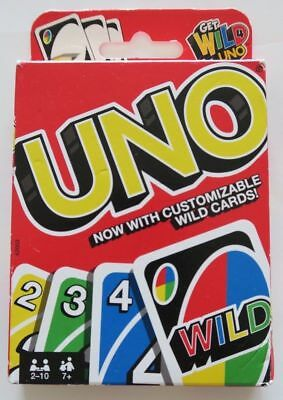 BRAND NEW UNO! Card game with customizable wild cards
