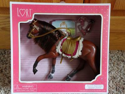 NEW LORI-BATTAT Brown QUARTER HORSE for 6 INCH MINI DOLL  ~AMERICAN GIRL~