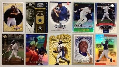 Lot Of 50 Different Tony Gwynn Insert Baseball Cards No Dups Hof Padres Must See