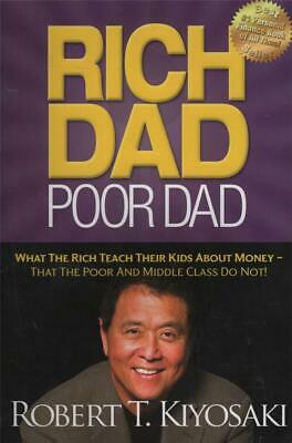 Rich Dad Poor Dad - Financial Planning Money Wealth -Excellent Used Fast Free Po