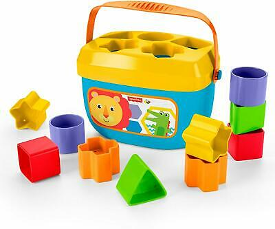 NEW Fisher-Price Brilliant Basics Baby's First Blocks